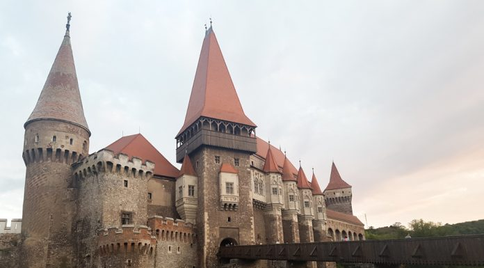 The Corvin Castle, also known as Hunyadi Castle