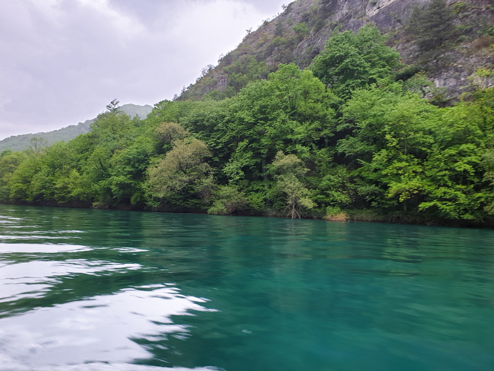 A view over Matka Canyon