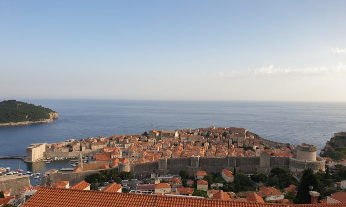 The view over Dubrovnik- The King's Landing