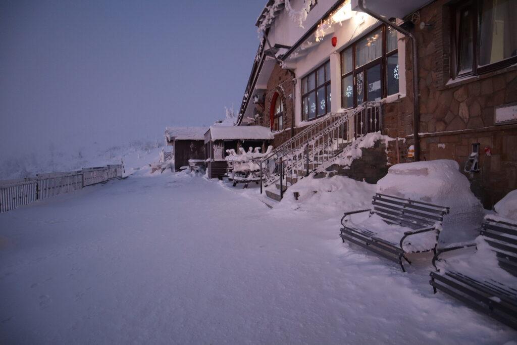 Cabana Dochia- iarna