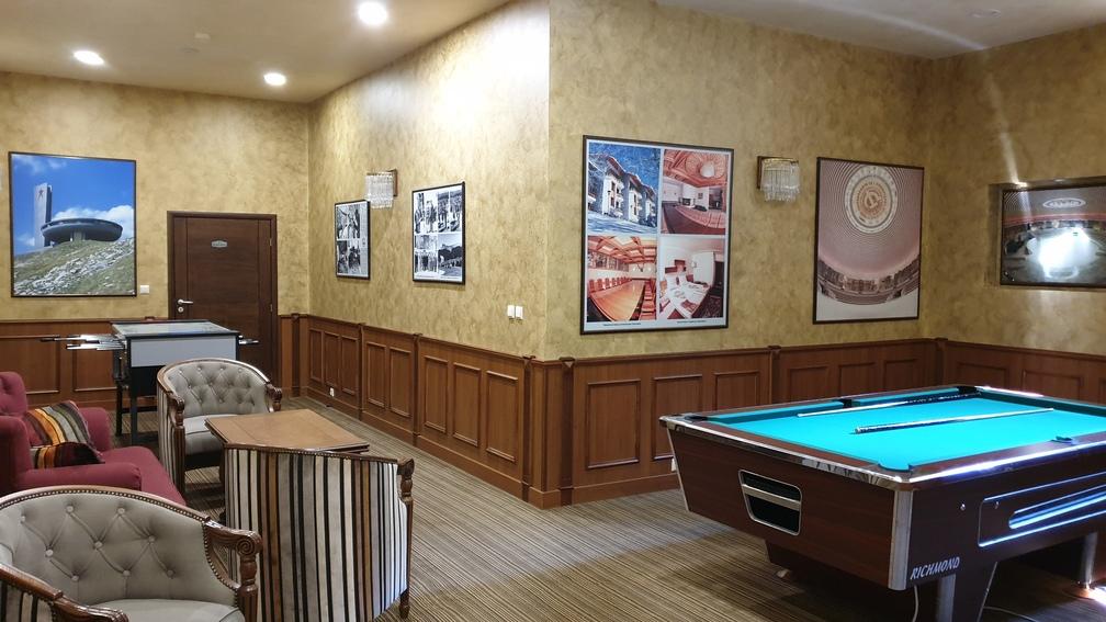 Sala de jocuri Hotel Edelweiss